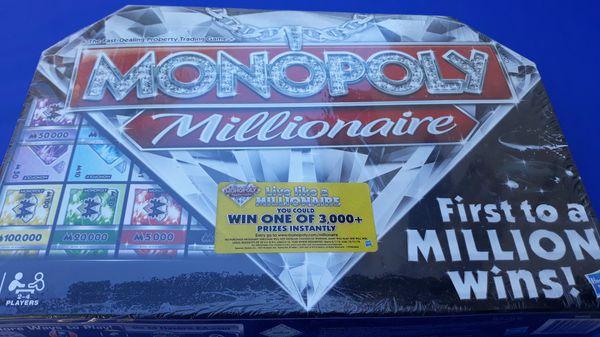 MONOPOLY MILLIONAIRE GAME