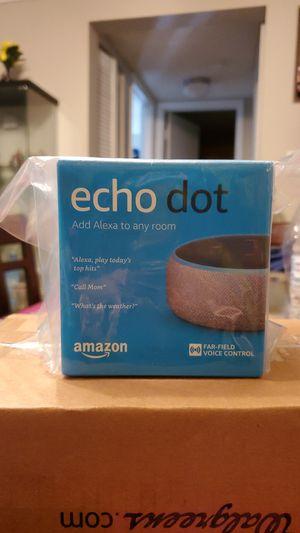 Echo dot Alexa 3rd gen. Brand new. Unopened. for Sale in Clearwater, FL