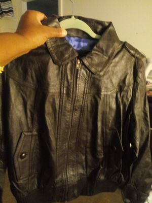 Men Leather Jacket for Sale in Raleigh, NC