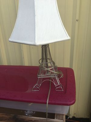 "24"" tall Eiffel Tower table/desk lamp... for Sale in Durham, NC"