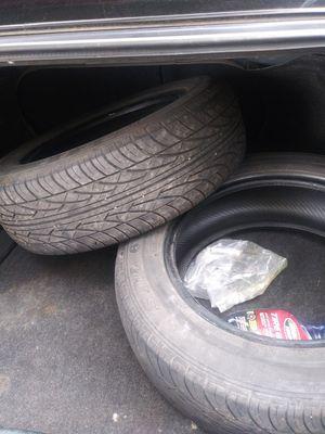 (2) 185/55/R15 tires for Sale in Meriden, CT
