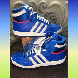 adidas Top Ten High Glory Blue new size 8.5 box has no lid! for Sale in Bridgeport,  CT
