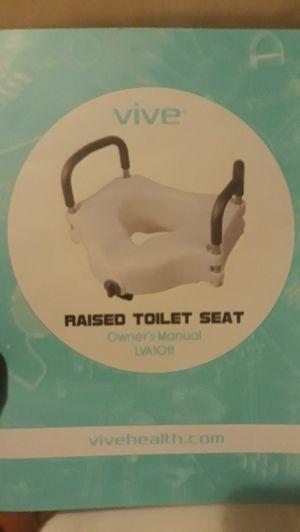 Raised toilet seat for Sale in Riverside, CA