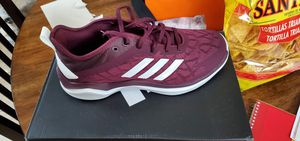 Adidas Speed Trainer 4 maroon and white size 8 for Sale in Frisco, TX