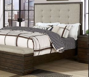 Queen bed frame. Dresser. Mirror. One night stand. Free local delivery for Sale in Ontario,  CA