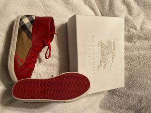 ❤️ 🖤 Authentic Unisex Burberry Shoes size 3 or 3.5 for Sale in Milwaukee, WI