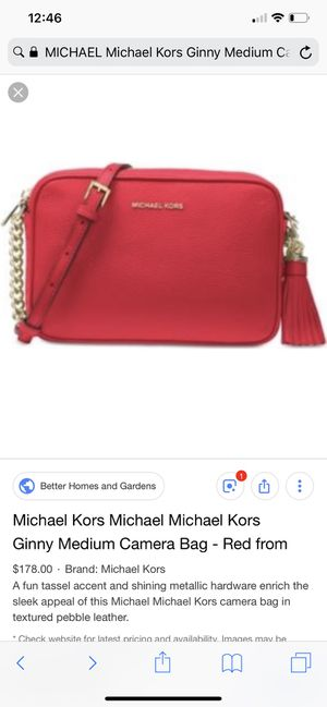 MICHAEL Michael Kors Ginny Medium Camera Bag for Sale in Snoqualmie, WA