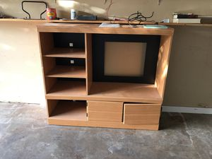 Tv stand and refrigerator for Sale in Austin, TX