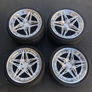 2014-2019 C7 Corvette Custom Rims with Tires for Sale in Chula Vista, CA