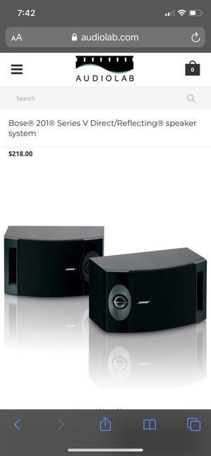 Bose 201V Surround Sound Speakers for Sale in Norfolk, VA