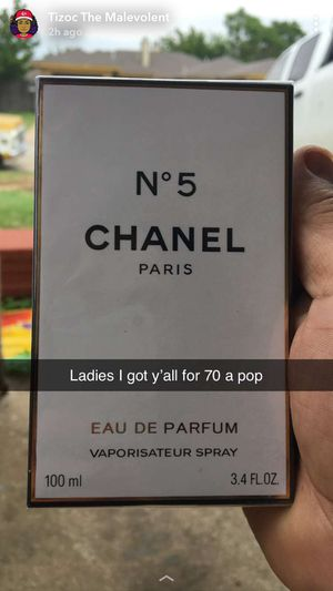 Authentic Chanel 5 3.4 for Sale in Fort Worth, TX