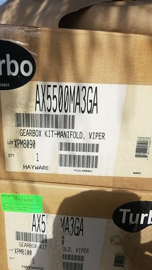 Gearbox kit manifold Viper swimming pool part for Sale in Fresno, CA