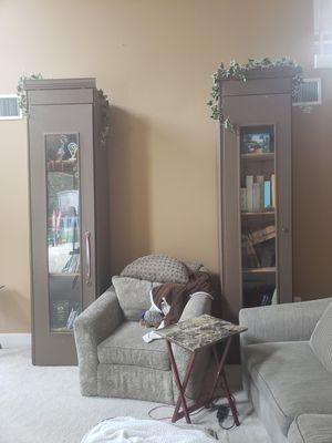 entertainment unit TV stands bookshelves custom built for Sale in Tampa, FL