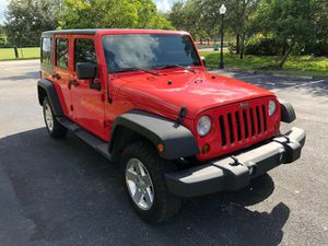 Gorgeous condition 2014 Jeep Wrangler Unlimited 4WD 4dr Sport SUV Loaded title good miles for Sale in Miramar, FL