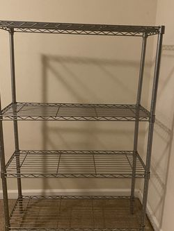 "Metal Shelving Unit 55"" tall for Sale in Issaquah,  WA"