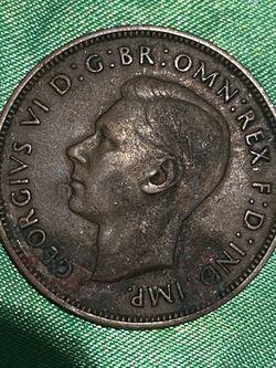 UK 1937 One Penny for Sale in Jensen Beach,  FL