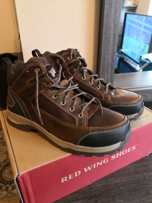 Brand new red wings boots for Sale in Riverside, CA