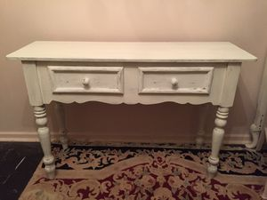 Shabby chic console table for Sale in Hartsdale, NY