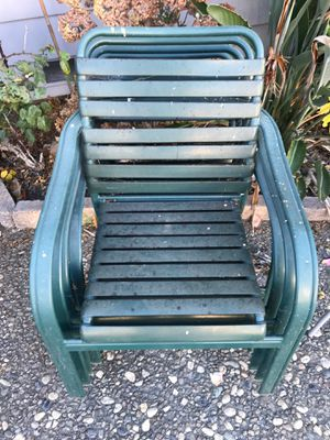 Outdoor chairs x4 for Sale in El Cerrito, CA