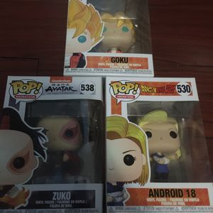 Funko Pop Lot Dragon Ball Z & Avatar for Sale in Alexandria, VA