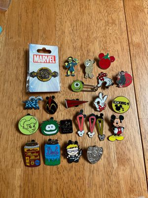 Disney pins for collecting and trading for Sale in Seminole, FL