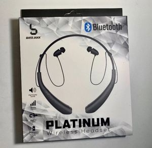❌NEW IN BOX❌ Bluetooth Platinum Wireless Headset earbuds headphones AirPods for Sale in Virginia Beach, VA