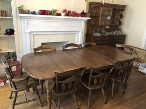 Dining Table, China Hutch and Side Server SET for Sale in Boonsboro, MD