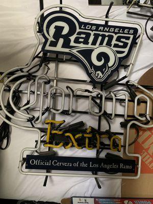 Corona extra Rams neon sign for Sale in Camas, WA