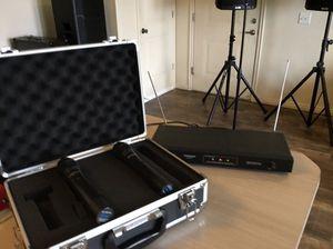 2 Wireless mic for Sale in Salt Lake City, UT