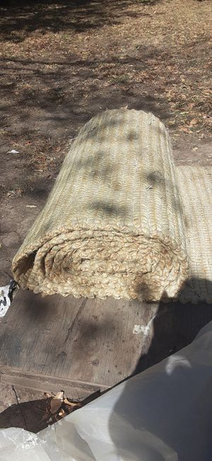 Custom made hemp roll out rug for Sale in Fort Worth, TX