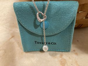 Authentic Tiffany and Co. Elsa Perretti open heart necklace for Sale in Washington, NJ