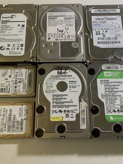 Desktop and laptop HDD hard drives for Sale in Irvine,  CA
