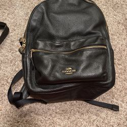 Black Coach Backpack for Sale in Tacoma,  WA