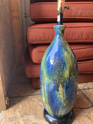 Vintage ceramic lamp base for Sale in Seattle, WA
