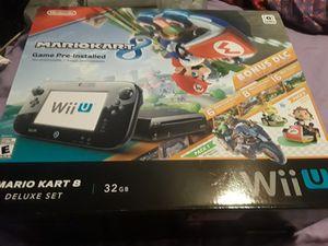 Nintendo wii u system for Sale in Dallas, TX