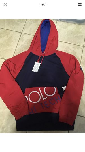 Ralph Lauren Polo Hi tek pullover JACKET COAT NOT HOODIE for Sale in Cleveland, OH