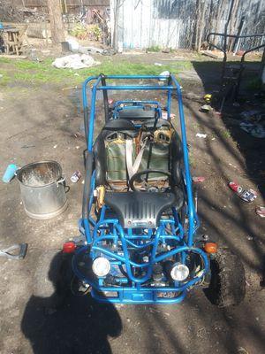 Pocket rocket. (Need starter) and go kart frame(no motor) $250 for Sale in Dallas, TX