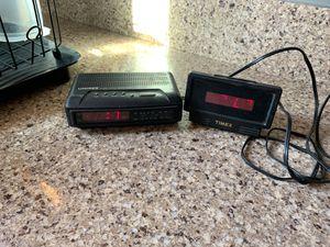 2 alarm clocks for Sale in Covina, CA