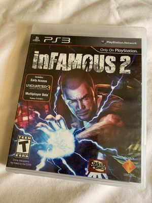 Infamous 2 ps3 game for Sale in Chino, CA