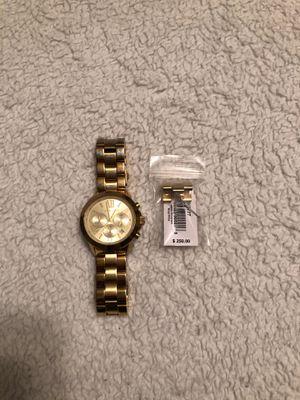 Michael Kors Gold Tone Watch for Sale in Clinton, IA