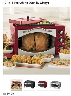 Ginny's toaster oven and rotisserie for Sale in Dunlap, TN