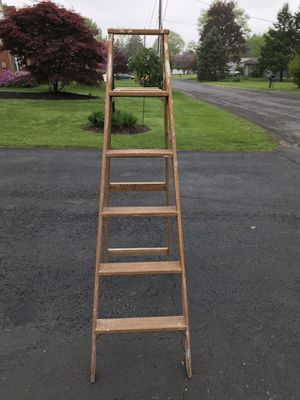 Step ladder wooden 6 foot for Sale in Milton, PA