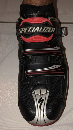 Shoes bike carbón fiber size 46 specialized for Sale in Miami, FL