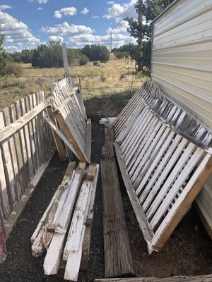 White picket fencing wood for Sale in Show Low, AZ