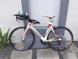 Cannondale tri bike 47 carbon great condition ca for Sale in Miami, FL