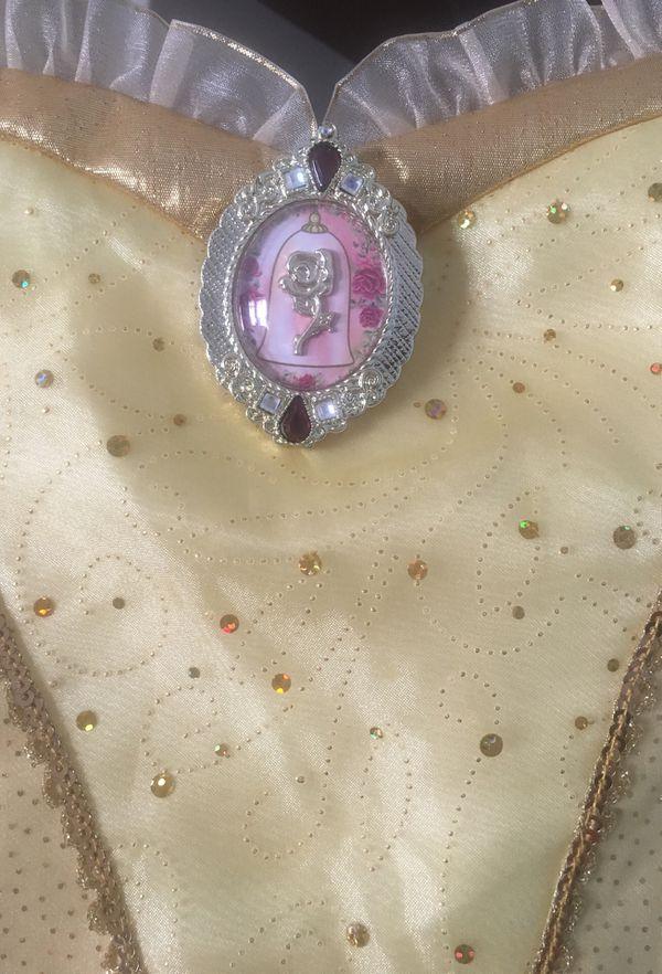 Disney Belle & Elsa dresses sz 9/10 (NWT) $20/each