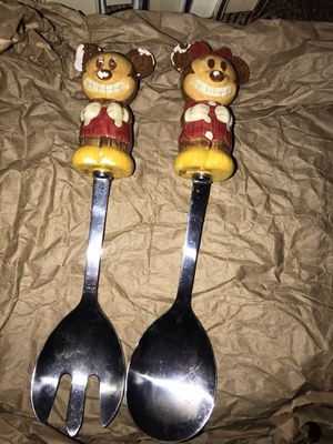 Vintage Mickey and Minnie Salad Servers for Sale in Scottsdale, AZ