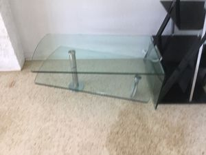 Coffee Table, Unique glass and chrome table. for Sale in Holiday, FL