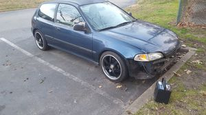 95 Honda civic hatchback need some word the car parked for more then a year ... for Sale in North Chesterfield, VA