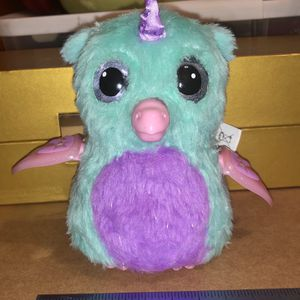 Hatchimals Electronic Interactive Toy Blue Pink And Purple Color It Works for Sale in Waukegan, IL